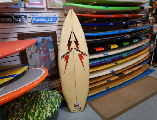 1980's Lightning Bolt Vintage Surfboard