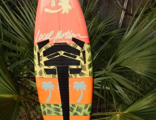 1980's Local Motion Vintage Surfboard