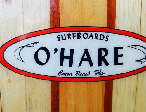 Pat O'Hare Balsa/Cedar/Redwood Surfboard Longboard